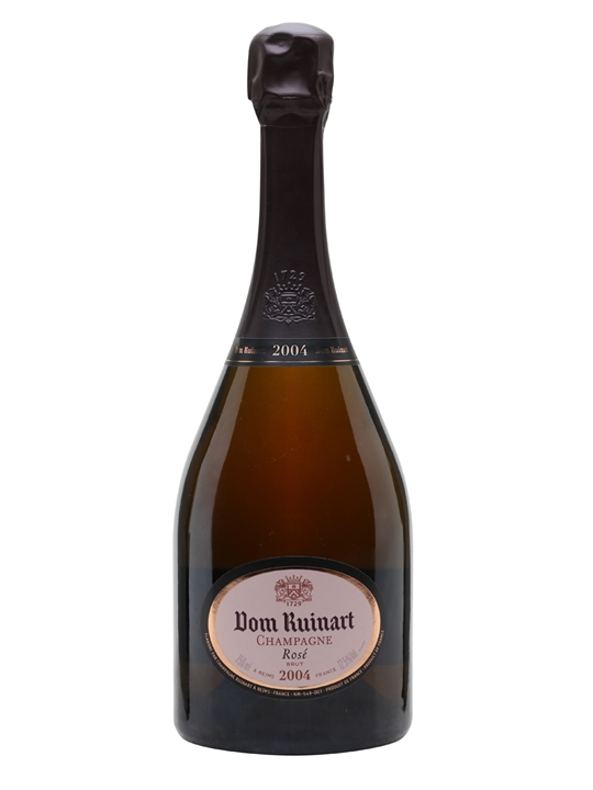 Dom Ruinart Rose 2004 Champagne