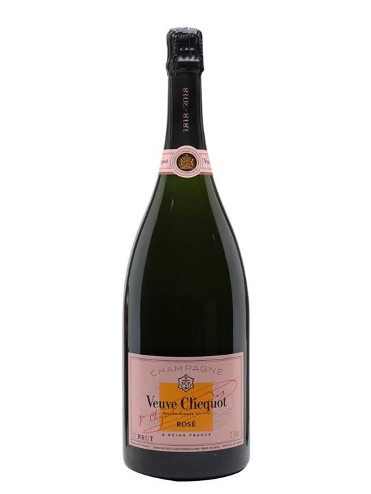 Veuve Clicquot Rose NV Champagne / Magnum