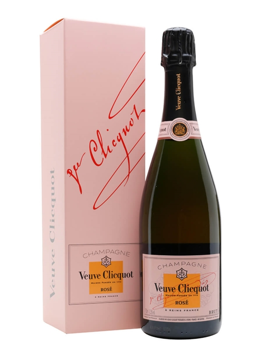 Veuve Clicquot Rose NV Champagne / Gift Box