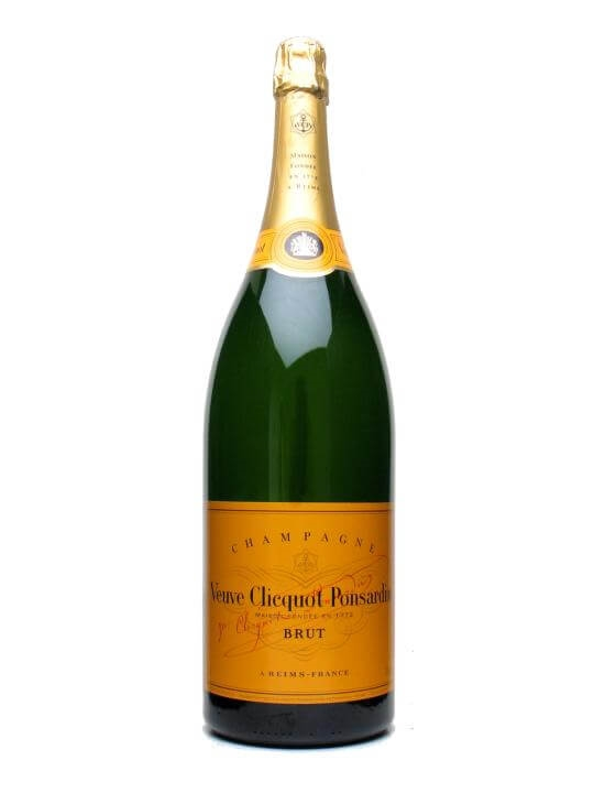 Veuve Clicquot Yellow Label NV Champagne  Jeroboam