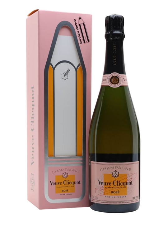 Veuve Clicquot Rose Champagne / Magnet Gift Box