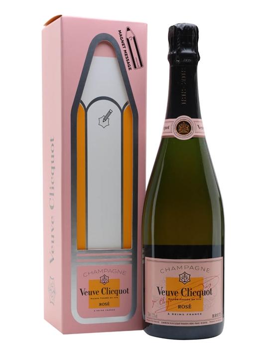 Veuve Clicquot Rose Champagne / Magnet Gift Box