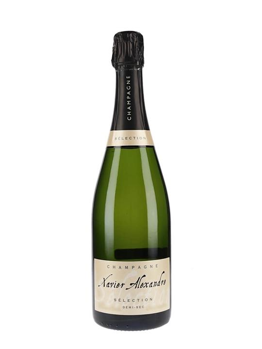 Xavier Alexandre Demi Sec NV Champagne