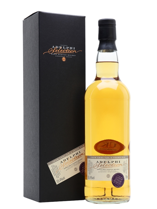 Caol Ila 2010 / 9 Year Old / Adelphi Islay Single Malt Scotch Whisky