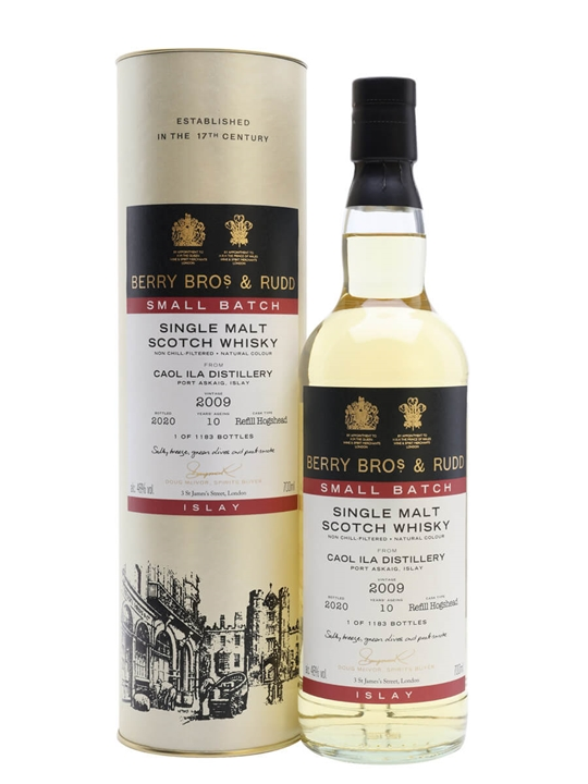 Caol Ila 2009 Small Batch / 10 Year Old / Berry Bros & Rudd Islay Whisky