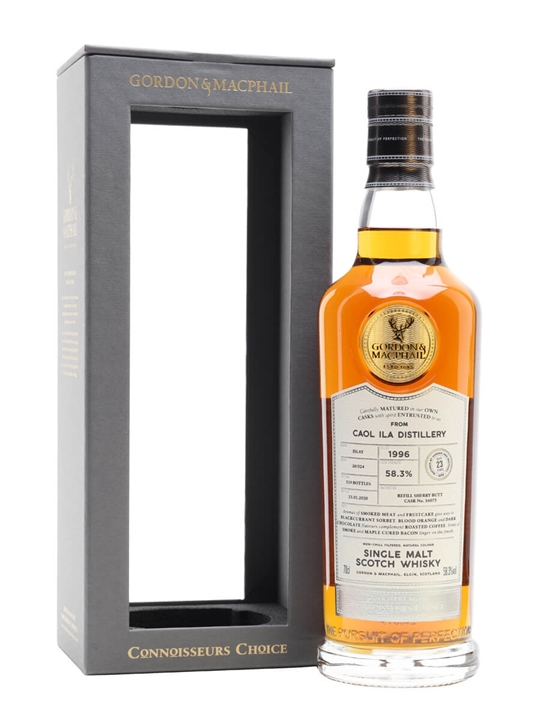 Caol Ila 1996 / 23 Year Old / Sherry Cask / Connoisseurs Choice Islay Whisky