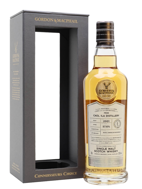 Caol Ila 2001 / 17 Year Old / Connoisseurs Choice Islay Whisky