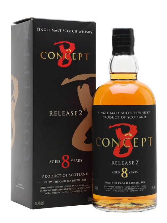 Caol Ila 8 Year Old / Concept 8 Release 2 Islay Whisky