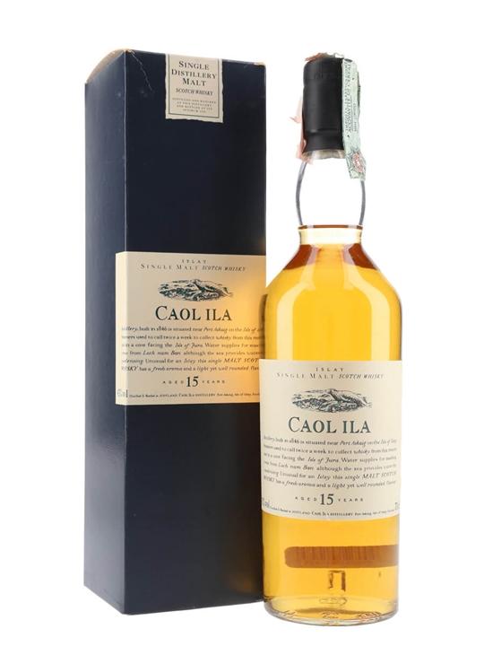 Caol Ila 15 Year Old / Flora & Fauna Islay Single Malt Scotch Whisky