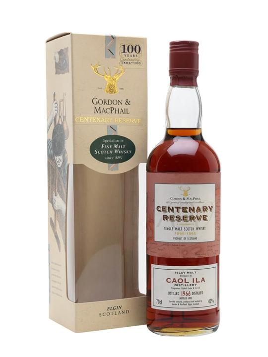 Caol Ila 1966 / 29 Year Old / Sherry Cask / Centenary Reserve Islay Whisky