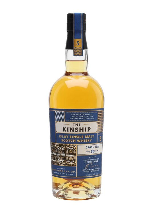 Caol Ila 1989 / 30 Year Old / Edition #5 / The Kinship Islay Whisky
