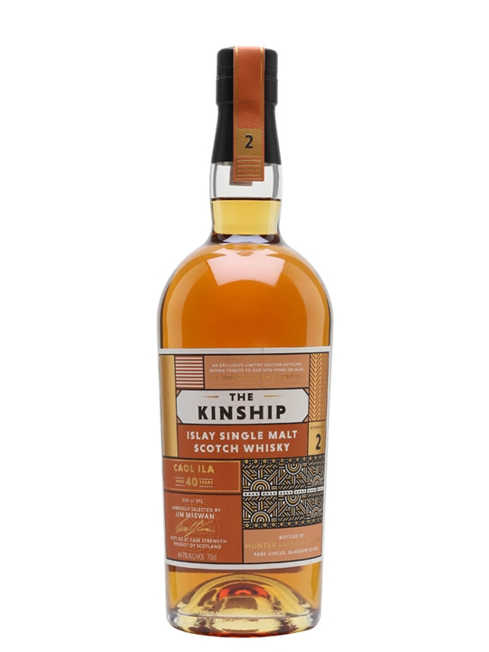 Caol Ila 40 Year Old / Bot.2019 / Kinship Islay Whisky