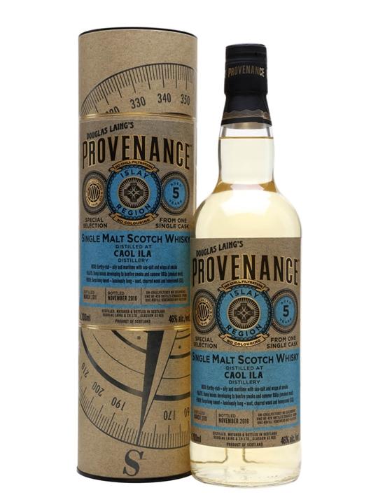 Caol Ila 2011 / 5 Year Old / Provenance Islay Whisky