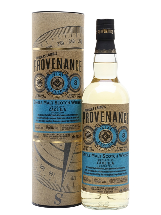 Caol Ila 2011 / 8 Year Old / Cask #13077 / Provenance Islay Whisky