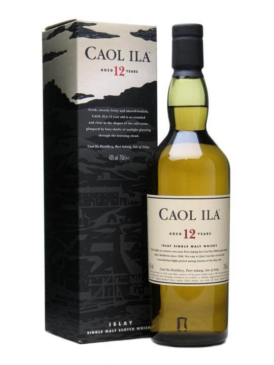 Caol Ila 12 Year Old Islay Single Malt Scotch Whisky