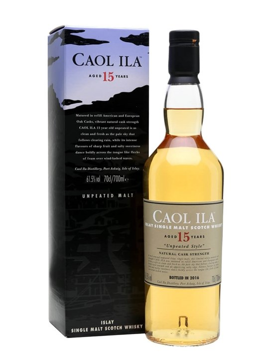 Caol Ila 2000 / 15 Year Old Unpeated / Special Releases 2016 Islay Whisky