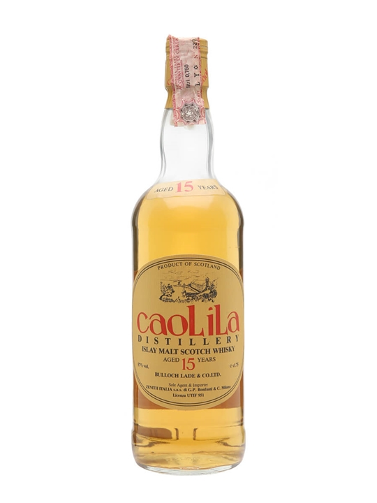 Caol Ila 15 Year Old / 100-Proof / Bot.1980s Islay Whisky
