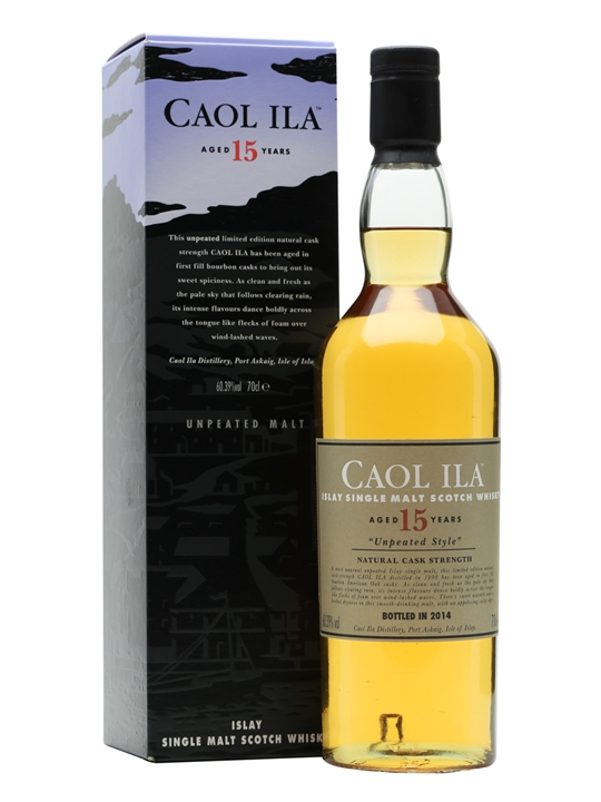 Caol Ila Unpeated 1998 / 15 Year Old / Special Releases 2014 Islay Whisky