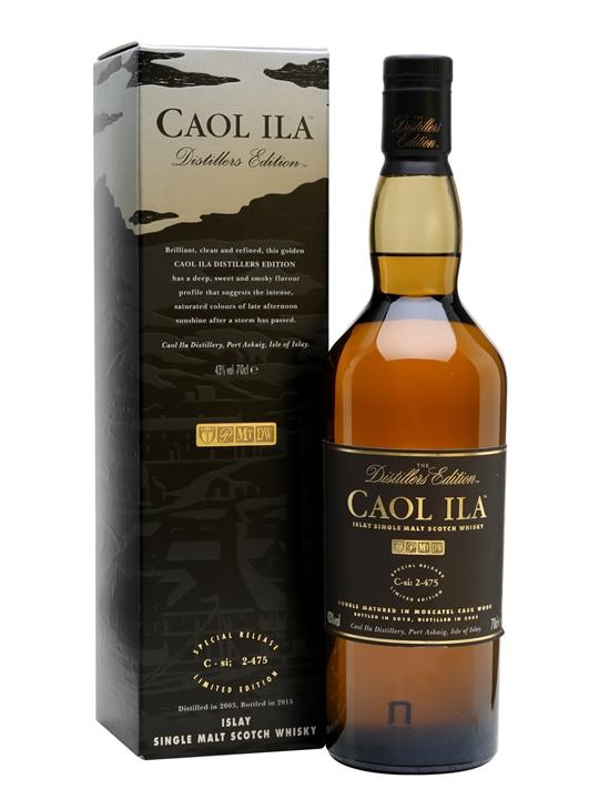 Caol Ila 2003 / Bot.2015 / Distillers Edition Islay Whisky