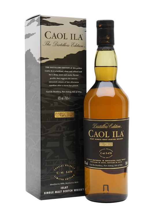 Caol Ila 2006 Distillers Edition / Bot.2018 Islay Whisky