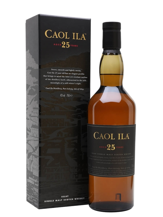 Caol Ila 25 Year Old Islay Single Malt Scotch Whisky
