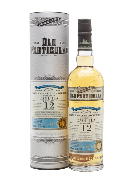 Caol Ila 2008 / 12 Year Old / Old Particular Islay Whisky