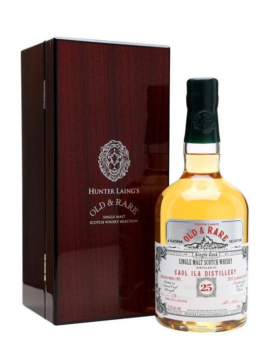 Caol Ila 1991 / 25 Year Old / Old & Rare Islay Whisky