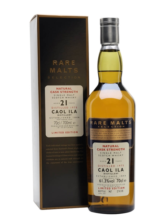 Caol Ila 1975 / 21 Year Old / Rare Malts Islay Whisky