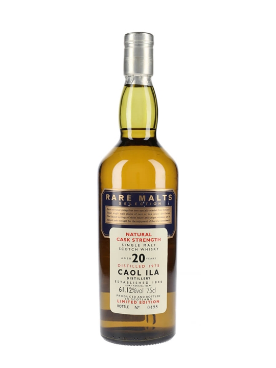 Caol Ila 1975 / 20 Year Old / Rare Malts Islay Whisky