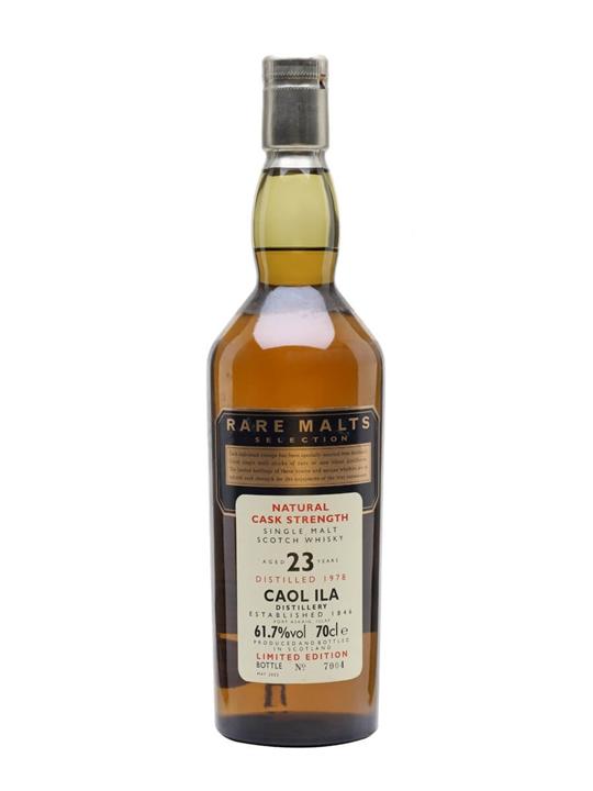 Caol Ila 1978 / 23 Year Old / Rare Malts Islay Whisky