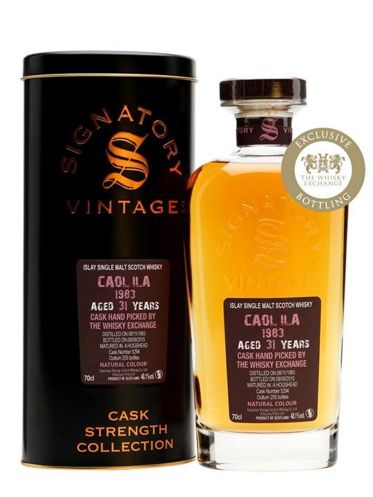 Caol Ila 1983 / 31 Year Old / Signatory / TWE Exclusive Islay Whisky