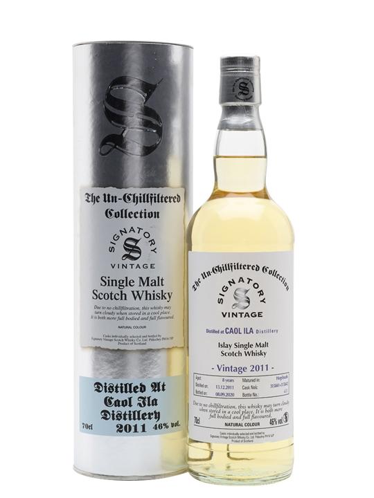 Caol Ila 2011 / 8 Year Old / Signatory Islay Single Malt Scotch Whisky