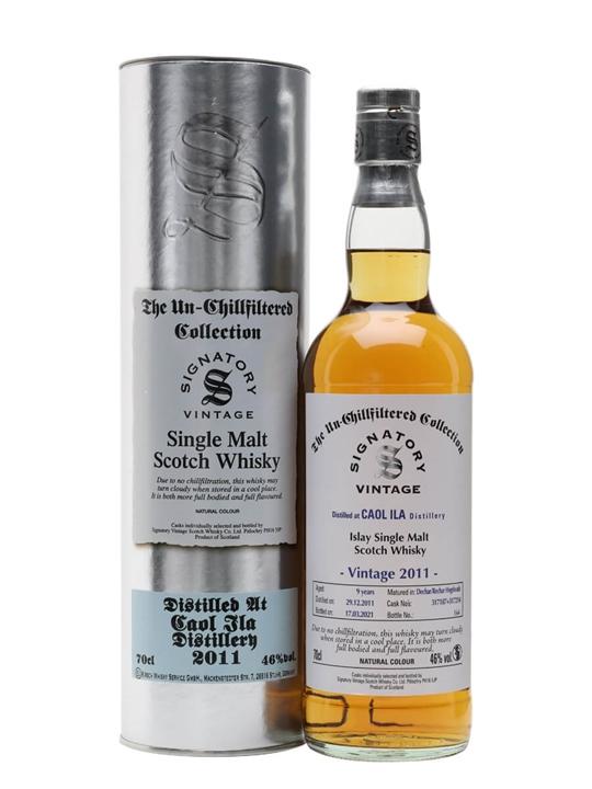Caol Ila 2011 / 9 Year Old / Signatory Islay Single Malt Scotch Whisky
