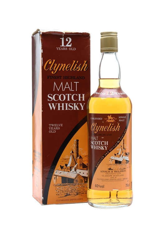 Clynelish 12 Year Old / Bot.1980s Highland Single Malt Scotch Whisky