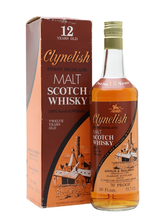 Clynelish 12 Year Old / Bot.1970s Highland Single Malt Scotch Whisky