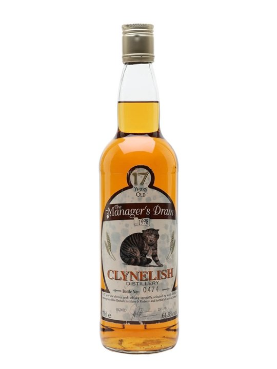Clynelish 17 Year Old / Manager's Dram Highland Whisky