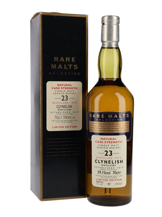 Clynelish 1974 / 23 Year Old / Rare Malts Highland Whisky