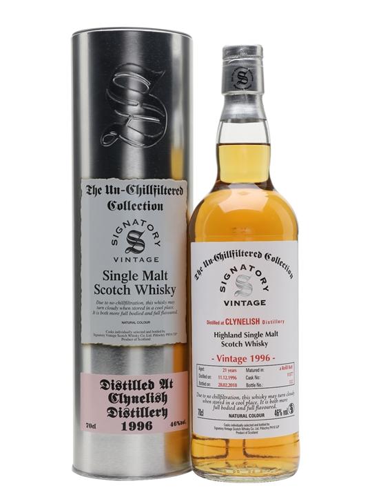 Clynelish 1996 / 21 Year Old / Signatory Highland Whisky