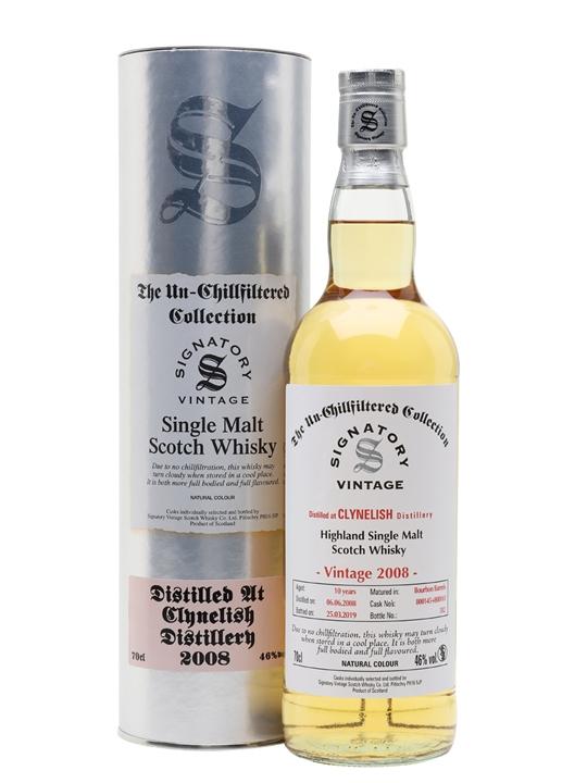 Clynelish 2008 / 10 Year Old / Signatory Highland Whisky