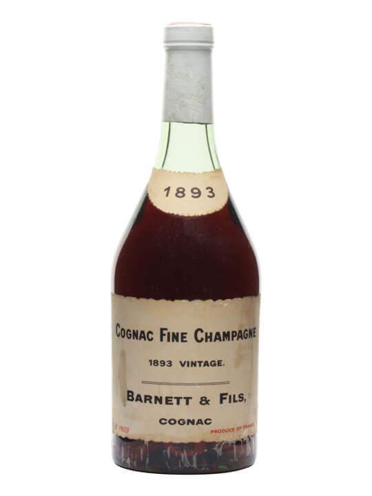 Barnett & Fils 1893 Cognac / Fine Champagne / Bot.1950s