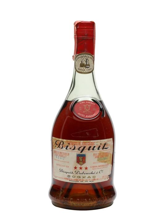 Bisquit Dubouche 3 Stars Cognac / Bot.1970s