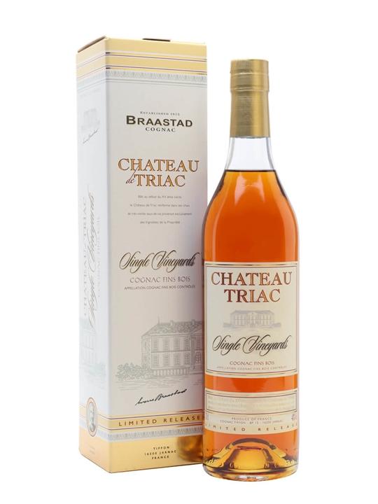 Braastad Chateau De Triac Single Vineyard Cognac