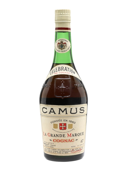 Camus Celebration Cognac / Bot.1960s