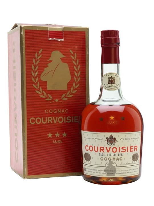 Courvoisier 3 Stars Luxe Cognac / Bot.1960s