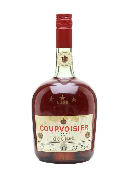 Courvoisier 3 Stars Luxe Cognac / Bot.1970s