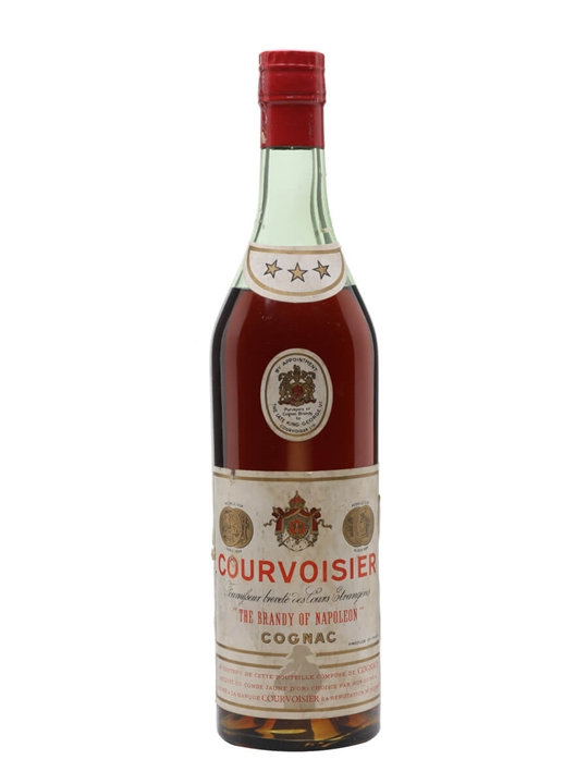 Courvoisier 3 Stars Cognac / Bot.1950s