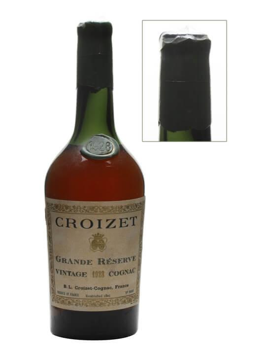 Croizet 1928 Cognac / Grande Reserve / Bot.1950s