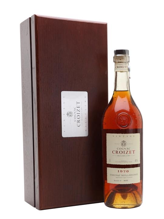 Croizet 1970 Vintage Cognac