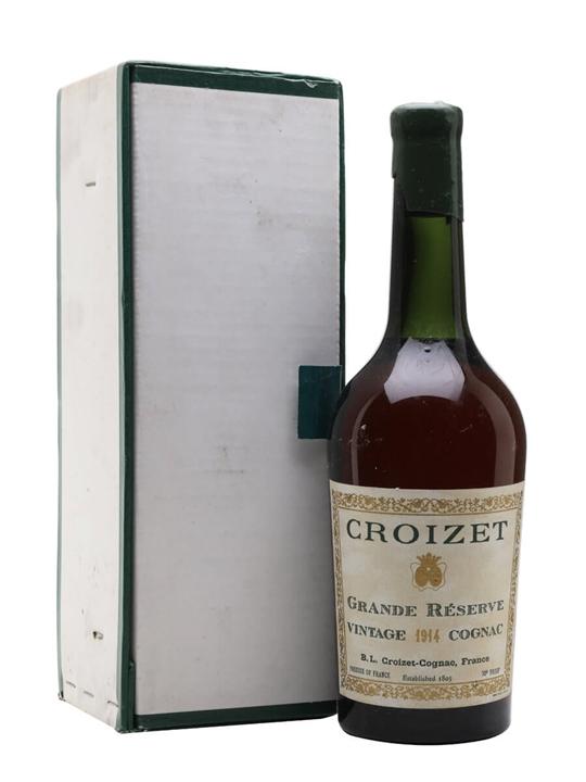 Croizet 1914 Cognac / Grande Reserve / Bot.1950s