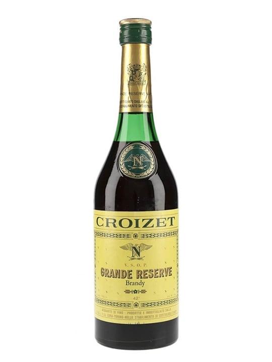 Croizet VSOP Cognac / Grande Reserve / Bot.1970s